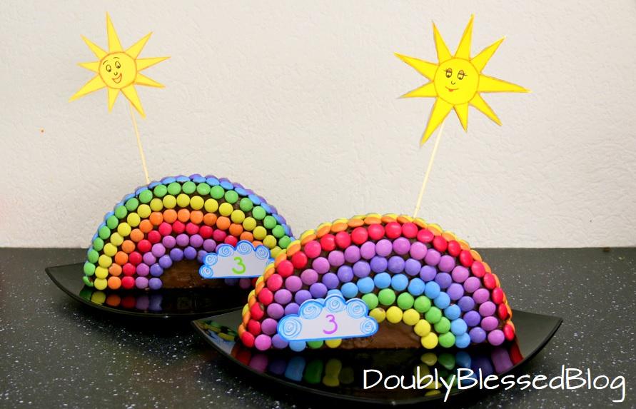 die coolsten smarties geburtstagskuchen teil 4 regenbogen doublyblessedblog. Black Bedroom Furniture Sets. Home Design Ideas
